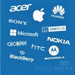 Apple Samsung Microsoft Sonty LG HTC OnePlus Motorola BlackBerry Acer Huawei